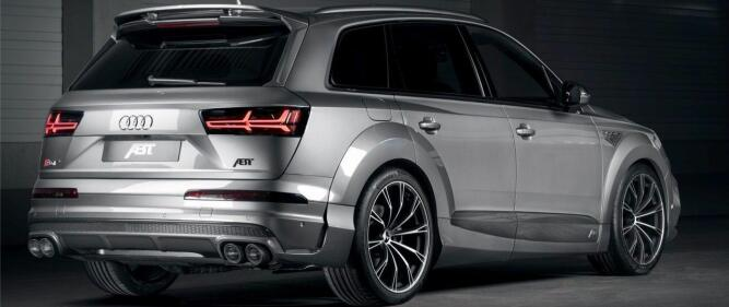 So it looks like the Audi SQ7 ABT looks like. This is noticeable in traffic, to be carefully described.