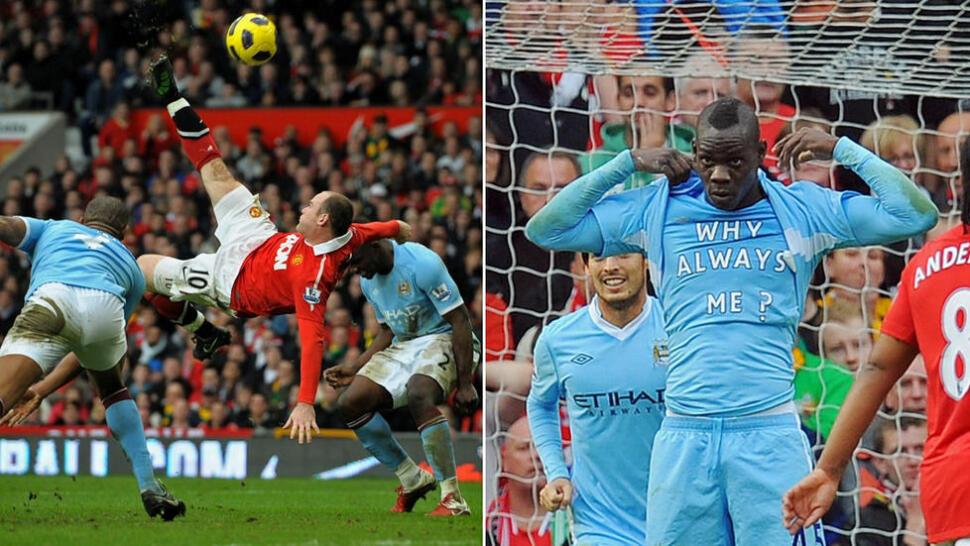 6ac9ef64 Dette er Premier League-historiens ti største City-United-øyeblikk