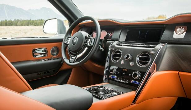 Britisk og konservativt, akkurat som Rolls-Royce skal være.