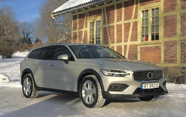 Helt ny Volvo V60 Cross Country er på plass i Norge. Volvo er for øvrig Norges femte mest solgte bilmerke i januar.