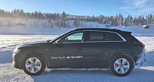 De første eksemplarene av Audi e-tron har kommet til Norge. Men kundene får etter planen ikke biler før i mars, dermed tar det ennå en tid før denne dukker opp på registreringsstatistikkene.