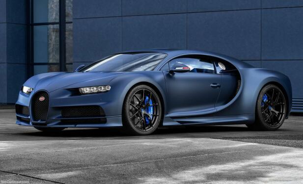 Slik ser den altså ut, Bugatti sitt nyeste flaggskip!