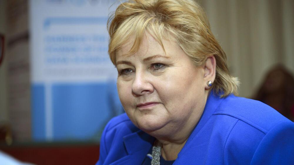 SAKSØKT: Statsminister Erna Solberg