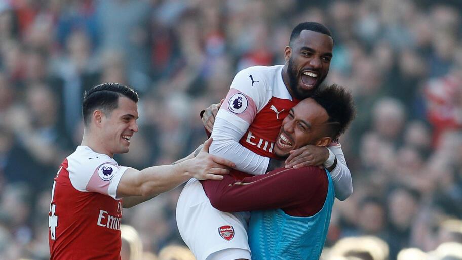 3347b205 Arsenal vant enkelt og tok tilbake fjerdeplassen