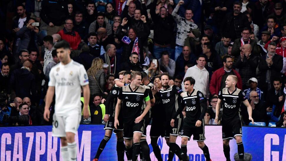 14e478fe Sjokk i Champions League: Real Madrid ute etter å ha blitt kjørt over av  Ajax