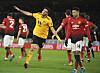 Raúl Jiménez og Wolverhampton sendte Jesse Lingard og Manchester United ut av FA-cupen.
