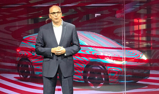 VW har akkurat presentert ID.3 for første gang, i Berlin.