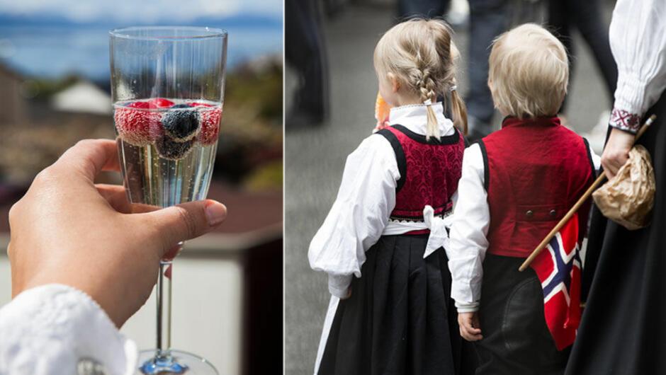 FESTDAG: 17. mai er på trappene, og det er en festdag for store og små. – Vær bevisst på alkoholinntaket, sier overlege på seksjon for barne- g ungsdomspsykiatri ved Haukeland sykehuse i Bergen.
