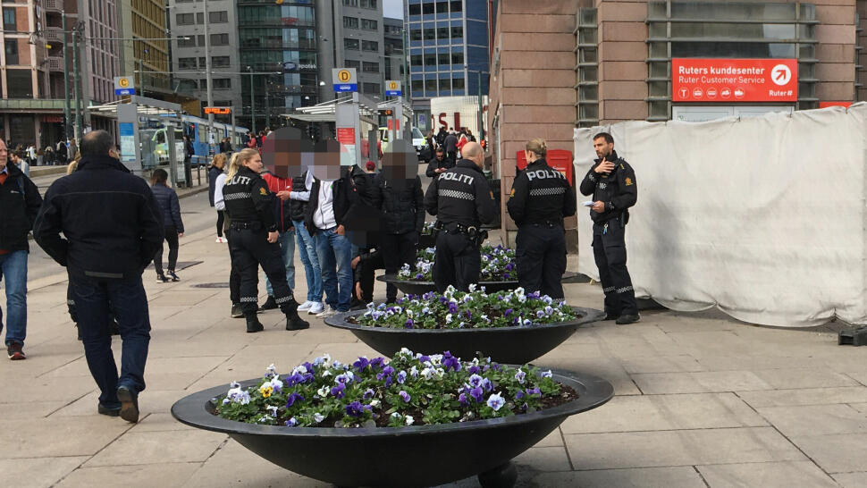 d361641d KONTROLL: Politiet har kontroll på litt over halvparten av de som var  involvert i slagsmålet