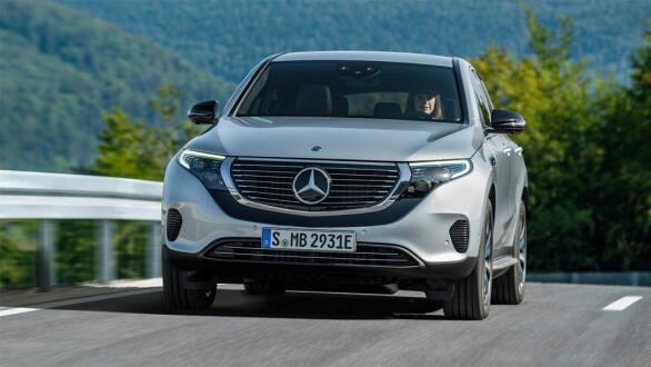 Mercedes EQC under test på norske veier.
