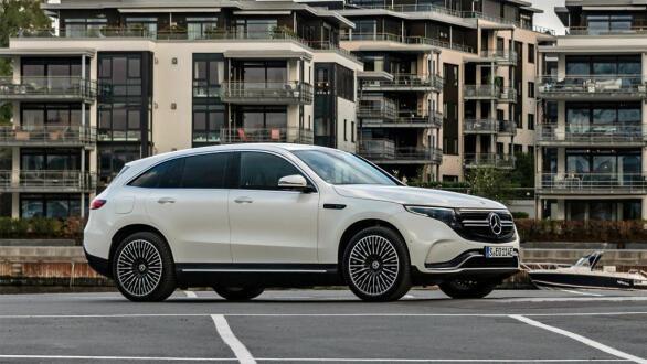 Mercedes EQC passer kanskje aller best i urbane strøk?