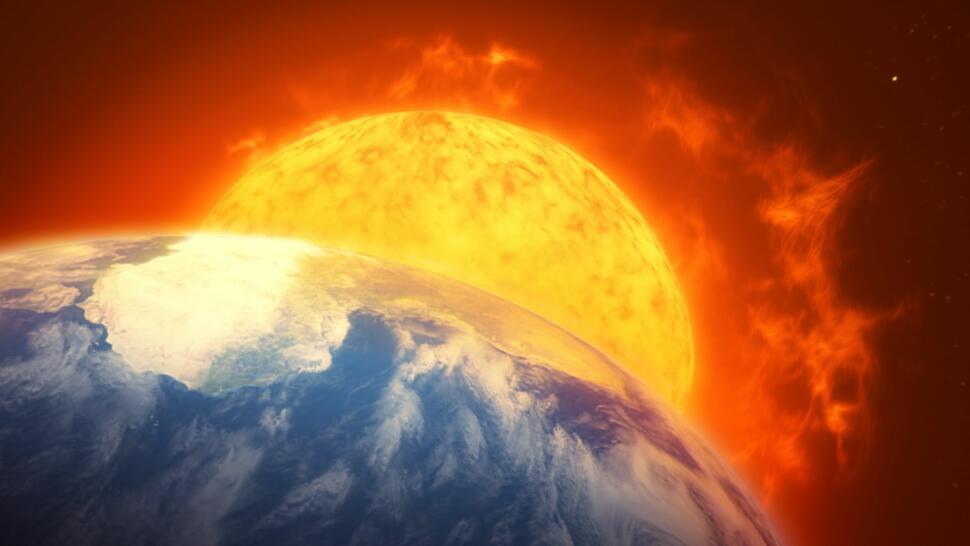 5673a1e7 Slik kan jordens bane endres for å unngå at vi blir slukt av solen