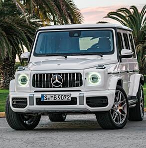 G63 er kanskje ikke bilen du kjøper for å herje med i terrenget. Da går du heller for G500 eller G350.