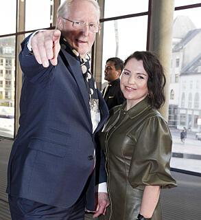 Eyvind Hellstrøm og kjæresten Anita Rennan. Foto: Scanpix