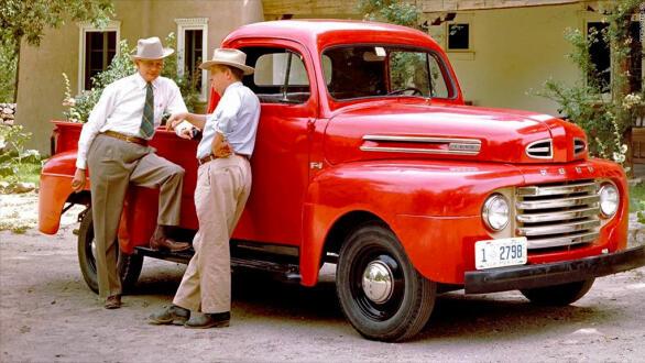 Den første Ford F-serie kom i 1948.