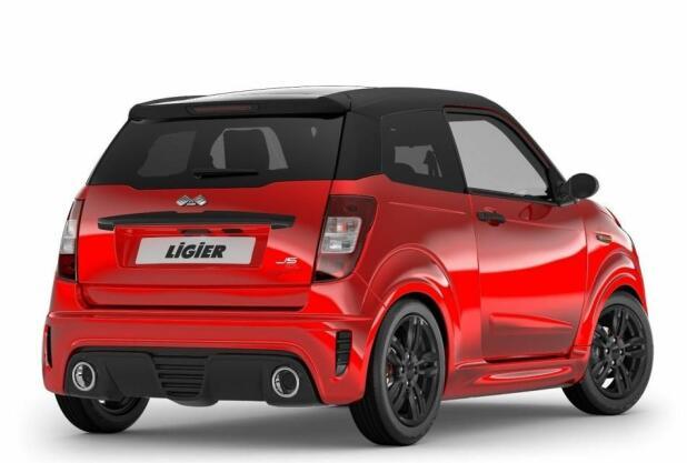 Ligier er et av mopedbil-merkene som satser på modeller som ser ut som personbiler, bare i miniatyr.