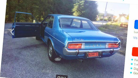 Bilen er så godt som ny – selv etter 45 år! Faksimile fra finn.no