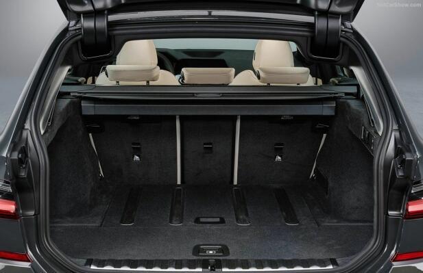 Bagasjerommet på nye 3-serie Touring er på 500 liter.