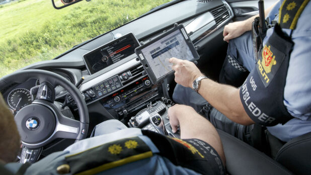 De siste årene har politiet i Norge fått en rekke nye biler, blant annet BMW X5. Foto: Scanpix