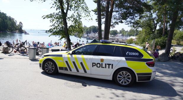 BMW 525d yter 218 hk og har etterhvert blitt vanlig å se på veiene som politibil. Foto: Scanpix