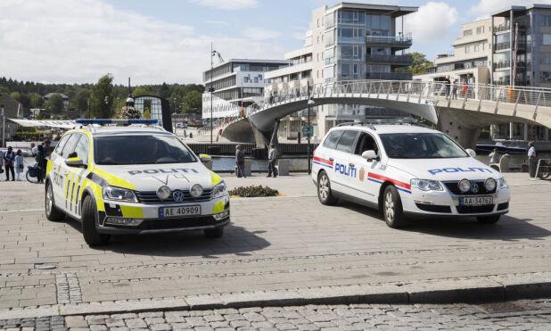 I dag går det nesten 600 VW Passat politibiler på norske veier. De eldste er 15 år gamle. Foto: Scanpix