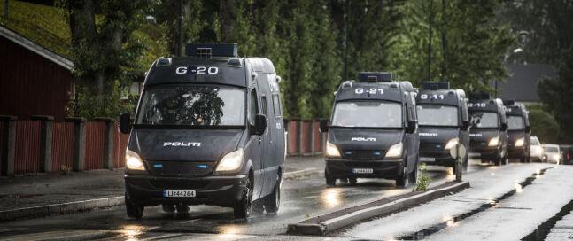 Mercedes Sprinter brukes både som cellevogn og til andre oppdrag. Foto: Scanpix