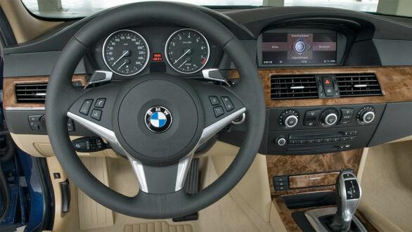 Typisk BMW på innsiden.