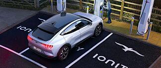 Hurtiglading er mulig med opptil 150 kWt.