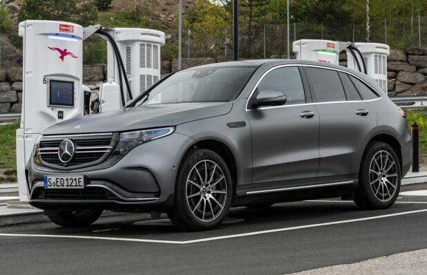 EQC er Mercedes sin første elbil i den nye EQ-satsningen. Den får snart besøk av flere helelektriske modeller.