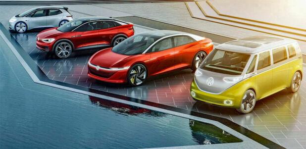 VW satser stor på den kommende ID-serien. Det vil få konsekvenser for fossilbilene.