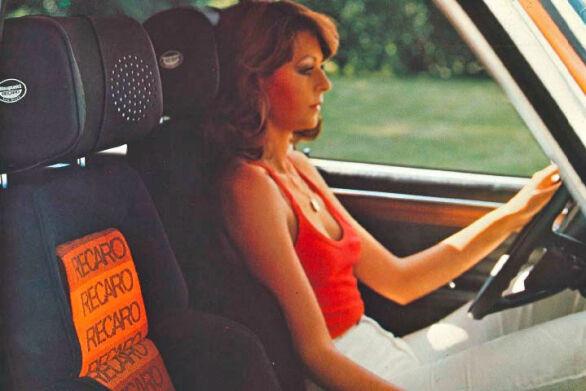 Bil med Recaro-seter var noe av det hotteste du kunne ha på 70- og 80-tallet.