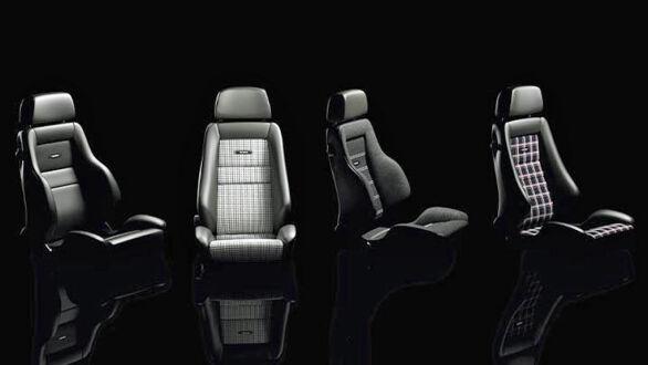 Dette er bare noen eksempler på seter fra Recaro Classic Line.