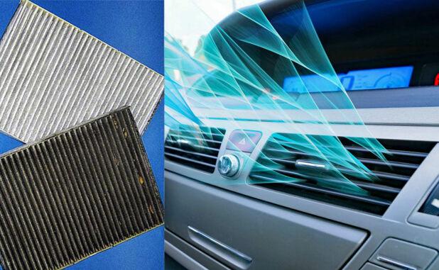Å skifte friskluftfilteret i bilen er heller ikke dumt. Det stopper mange bakterier fra å komme inn i bilen.