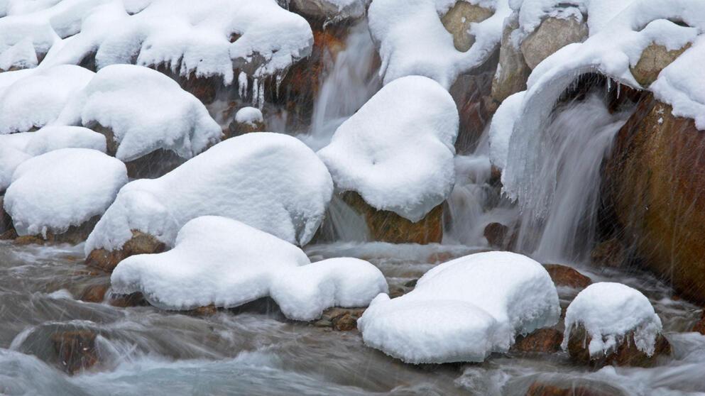 snøsmelting kart 100 mm nedbør på 24 timer snøsmelting kart