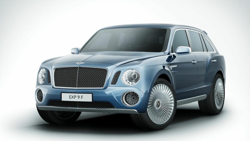 043b177a Slik så det ut da Bentley viste konseptmodellen av sin aller første SUV.  Designet vakte