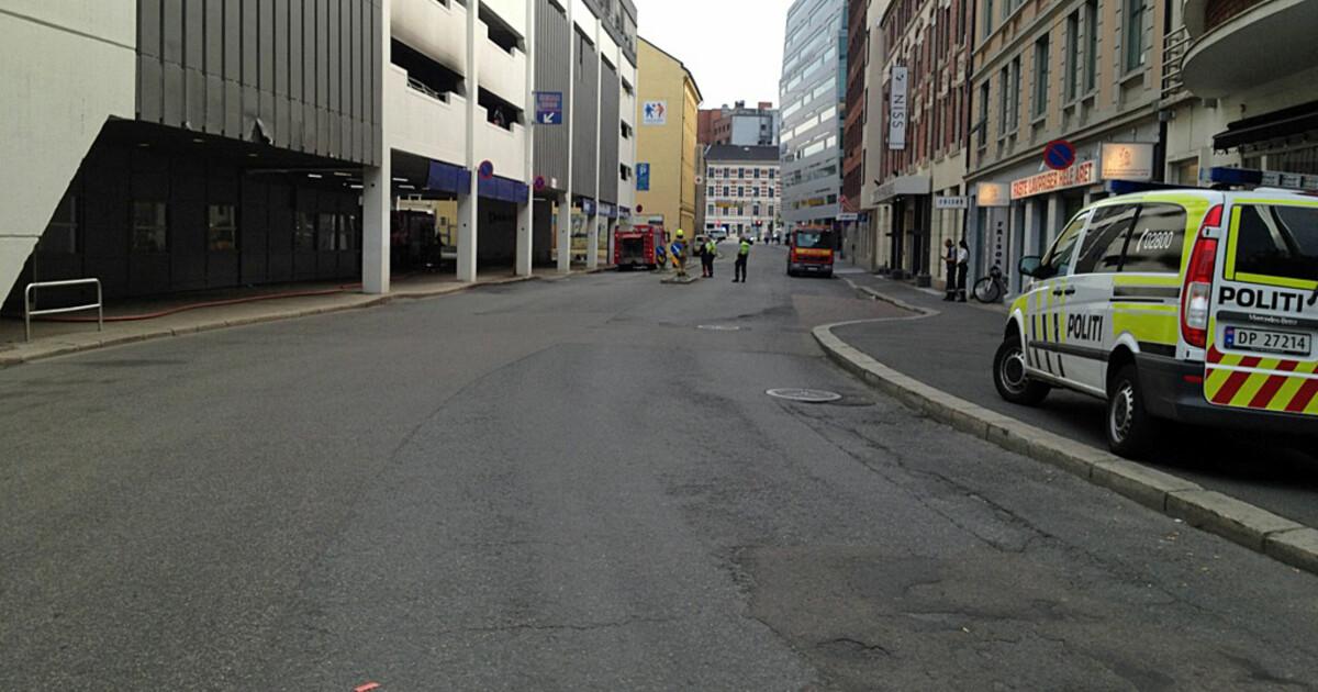 oslo city parkeringshus