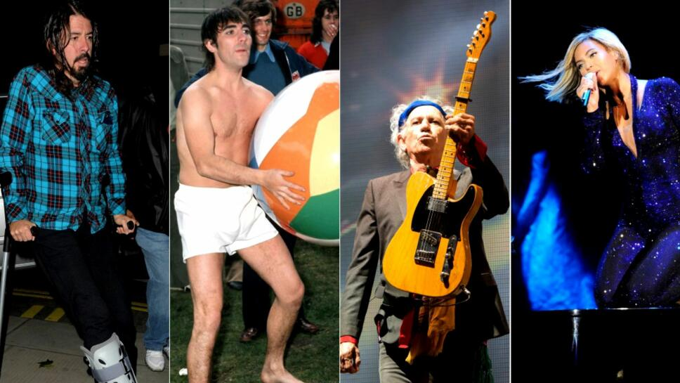 5d1250f2 UHELDIGE: Dave Grohl, The Who-trommeslager Keith Moon, The Rolling Stones-
