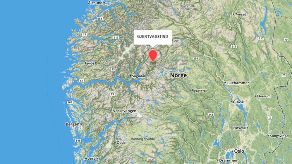 kart jotunheimen Savsvensk turgåer kommet til rette kart jotunheimen