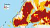 kart lynnedslag norge Forbered deg på mer lyn og torden kart lynnedslag norge