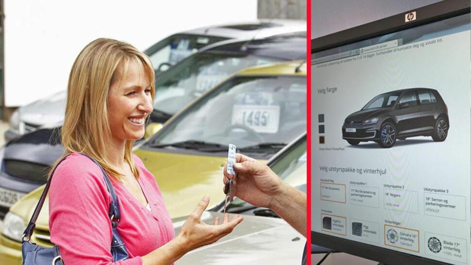 79fbfebd Flere og flere av oss ser knapt noen bilselger når vi skal ha ny bil.