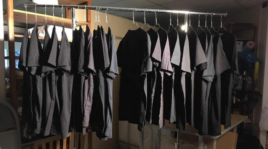 6e20f11b Ti t-skjorter ble vasket og siden sammenlignet med ti like t-skjorter som