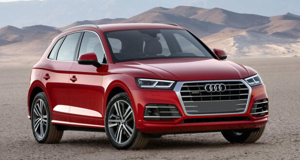 The new Q5 comes best from the Audi models.