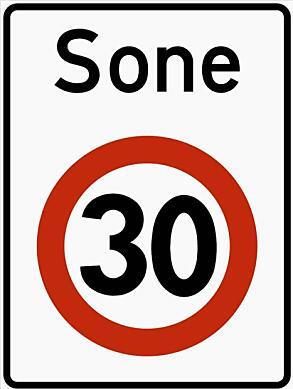 6 av 10 innrømmer at de også bryter fartgrensen i 30-soner.