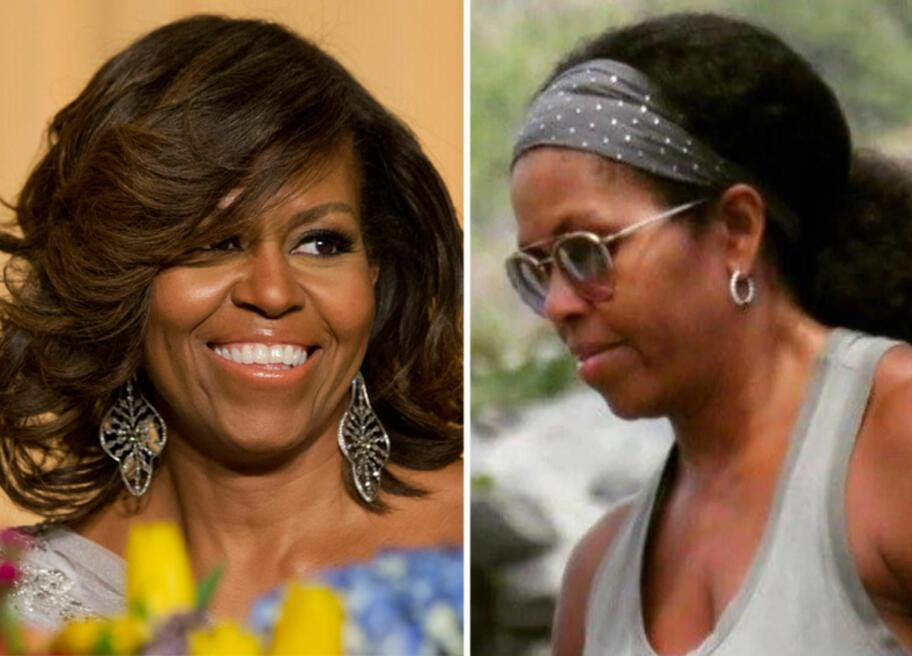 3455ce33 FØR OG NÅ: Michelle Obama er ikke lenger presidentfrue, og det betyr at hun