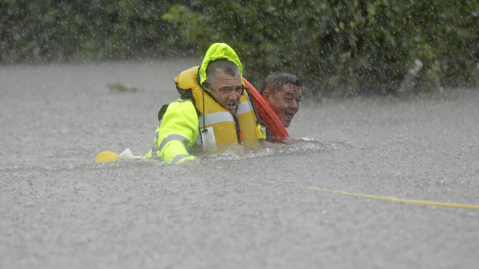 b7b4ee6d Orkanen Harvey gjorde landfall i Texas sendt fredag kveld lokal tid, med en  vindstyrke på