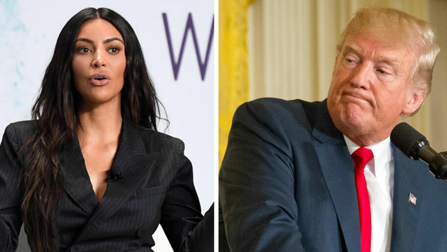 e85038e1f Kim Kardashian (36) om Trump: - Datteren min (4) ville gjort en ...