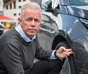 Arne Voll er kommunikasjonssjef i forsikringsselskapet Gjensidige