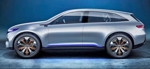 Akkurat hvordan Mercedes sin elektriske SUV blir seende ut vet vi ikke enda. Men her er i alle fall konseptbilen.