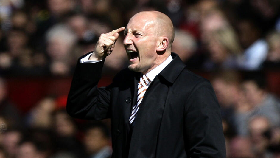 Ian Holloway har lit av et temperament.