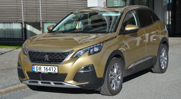 Peugeot strekker seg til 3000 kilometer overkjørt.